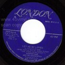 LONDON 1761 MANTOVANI Let Me Be Loved/Call Of The West