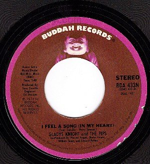 NM BUDDAH 433 GLADYS KNIGHT/PIPS I Feel A Song/Bridge