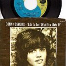 NM MGM K-14503 PS+ REC DONNY OSMOND Life Is Just What