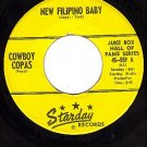 STARDAY 559 45 COWBOY COPAS New Filipino Baby ~ Signed