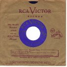RCA 52-0057 AL GOODMAN Song Of The Vagabonds/Only Rose