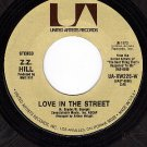 UA XW225 Z.Z.HILL Love In The Street/Ain't Nothing You