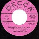 NM 45 PROMO DECCA 25693 DUKES DIXIELAND ~ Loves My Baby