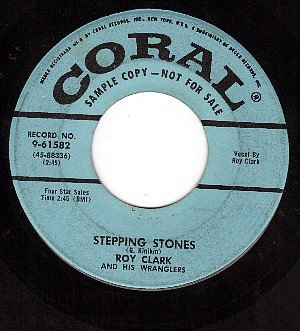PROMO CORAL 9-61582 ROY CLARK Stepping Stones/I Found