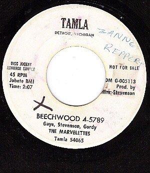 PROMO TAMLA 54065 MARVELETTES Beechwood/Someday Someway