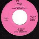 TRIP 104 45 STEVE GREENBERG ~ Big Bruce ~ Man Is Dead