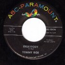 ABC 10478 45 TOMMY ROE Everybody ~ Sorry I'm Late Lisa