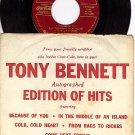 COLUMBIA EP COCA-COLA TONY BENNETT Cold Heart/An Island