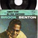 MERCURY 72135 45 + PS BROOK BENTON Tender Years/My True