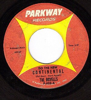 PARKWAY 833 DOVELLS Do The New Continental ~ Mope-itty