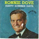 PICTURE SLEEVE RONNIE DOVE DIAMOND 205 Happy Summer Day