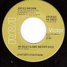 RCA PB-10531 45 JIM ED BROWN ~ An Old Flame Never Dies