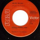 NM RCA 0059 45 JIM ED BROWN Broad Minded Man/Helpin Her
