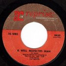 NM REPRISE 0420 THE KINKS A Well Respected Man/A Shame