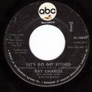 ABC 10808 RAY CHARLES Lets Ro Get Stoned ~ The Train