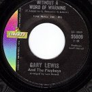 NM LIBERTY 55809 GARY LEWIS/PLAYBOYS Without A Word Of