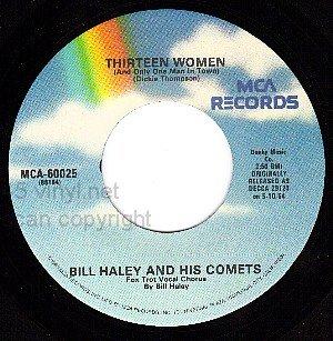 NM MCA 60025 45 BILL HALEY/COMETS Rock Around The Clock