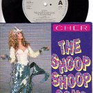 NM/M- EPIC 45 SOUNDTRACK CHER ~ The Shoop Shoop Shop