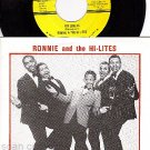 NM 45+ PS DOOWOP RONNIE & HI-LITES For Lovers ~ A Bride