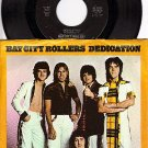 NM 45+ PS ARISTA 0233 BAY CITY ROLLERS Dedication/Rock