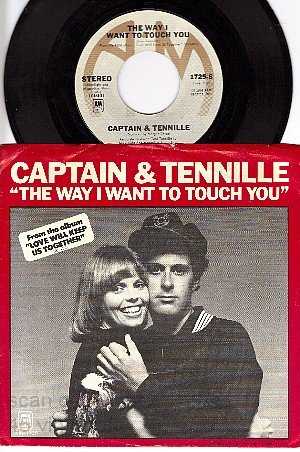 NM PS+ 45 AM 1725 CAPTAIN & TENNILLE Want To Touch You