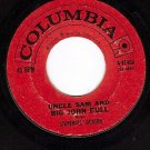 COLUMBIA 41488 STONEWALL JACKSON Uncle Sam And Big John