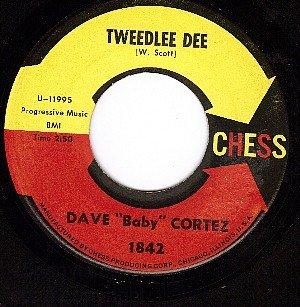NM CHESS 1842 DAVE CORTEZ ~ Tweedlee Dee ~ Gift Of Love