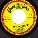 KAMA SUTRA 259 DJ OUTRAGE The Letter/The Letter-Edited
