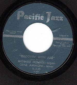PACIFIC JAZZ 330 RICHARD HOLMES Groovin With Jug
