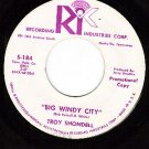 NM PROMO RI 184 TROY SHONDELL Big Windy City/Were Mine