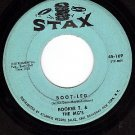 STAX 169 45 rpm BOOKET T & THE MG's Boot Leg ~ Outrage