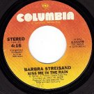 NM COLUMBIA 11179 BARBARA STREISAND Kiss Me in The Rain