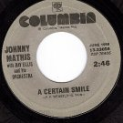 NM COLUMBIA 33056 JOHNNY MATHIS A Certain Smile ~ Small
