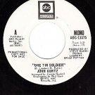 PROMO 45 rpm ABC 11375 JOHN KURTZ ~ One Tin Soldier