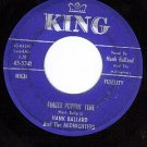 KING 5341 HANK BALLARD Finger Poppin Time/I Love You So