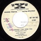 NM PROMO 4X-0036 ANDY WILLIAMS Why Should Cry Over You