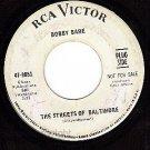 PROMO RCA 47-8851 BOBBY BARE Streets Of Baltimore/Away