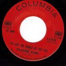 NM COLUMBIA 4-42630 CLAUDE KING ~ Got The World By Tail