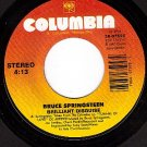 NM COLUMBIA BRUSE SPRINGSTEEN Brilliant Disguise/Lucky