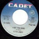 DJ CADET 5606 ETTA JAMES I Got You Babe ~ I Worship The