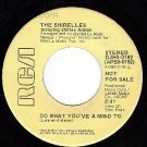 NM 45 DJ 0192 THE SHIRELLES ~ Do What You've A Mind To