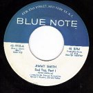 BLUE NOTE 1910 45 JIMMY SMITH ~ Red Top Part 1 & Part 2