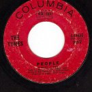 COLUMBIA 4-44630 45 THE TYMES People ~ For Love Of Ivy