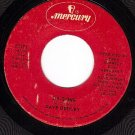 MERCURY 73193 45 rpm DAVE DUDLEY Six-O-One/Comin Down