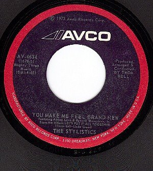 AVCO 4634 STYLISTICS You Make Me Feel Brand New/For The