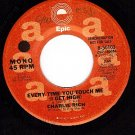 PROMO EPIC 8-50103 CHARLIE RICH Everytime You Touch Me