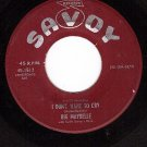 SAVOY 1512 BIG MAYBELLE I Dont Want To Cry ~ All Of Me
