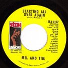 NM STAX STA-0127 MEL & TIM Starting All Over Again/Bad