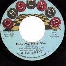 NM/M- CHECKER 118 LITTLE MILTON Help Me Help You/Sweet