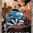 NEW NFL ATLANTA FALCONS Woven Cozy Blanket Throw 48x60